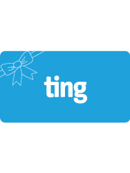 Ting gift card