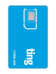Ting CDMA SIM card