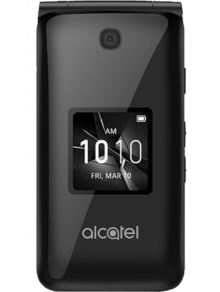 image of Alcatel-Go-Flip-front-Black
