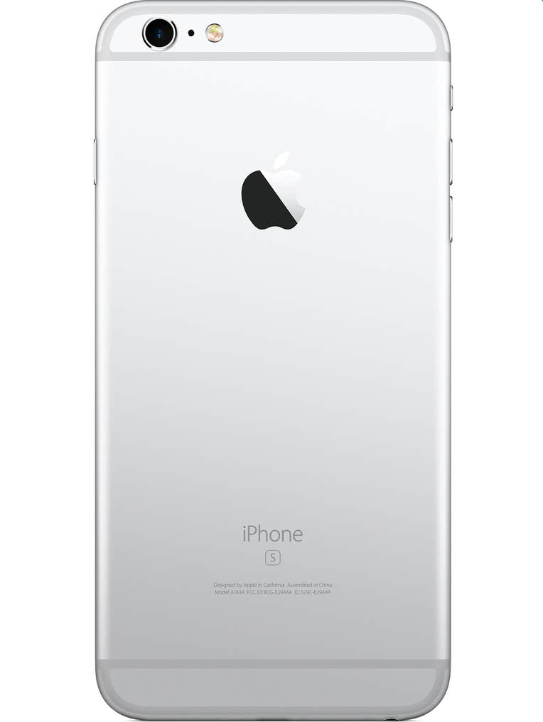 image of Apple-iPhone-6s-Plus-back-Silver