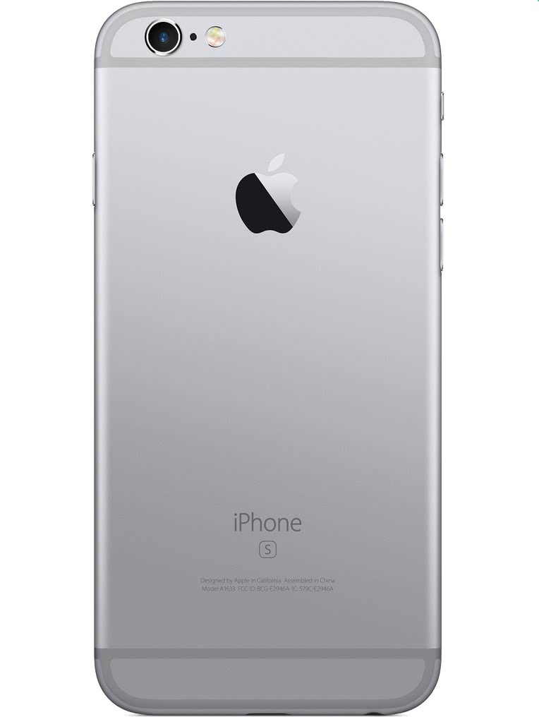 image of Apple-iPhone-6s-back-Space-Gray