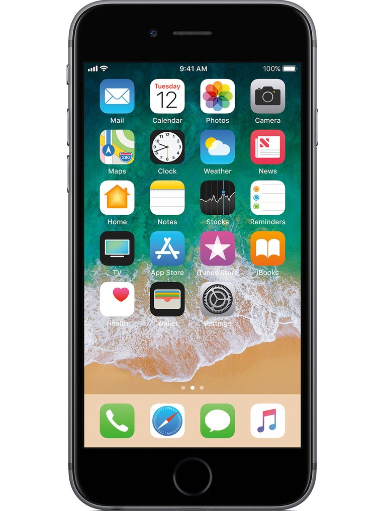 image of Apple-iPhone-6s-front-Space-Gray