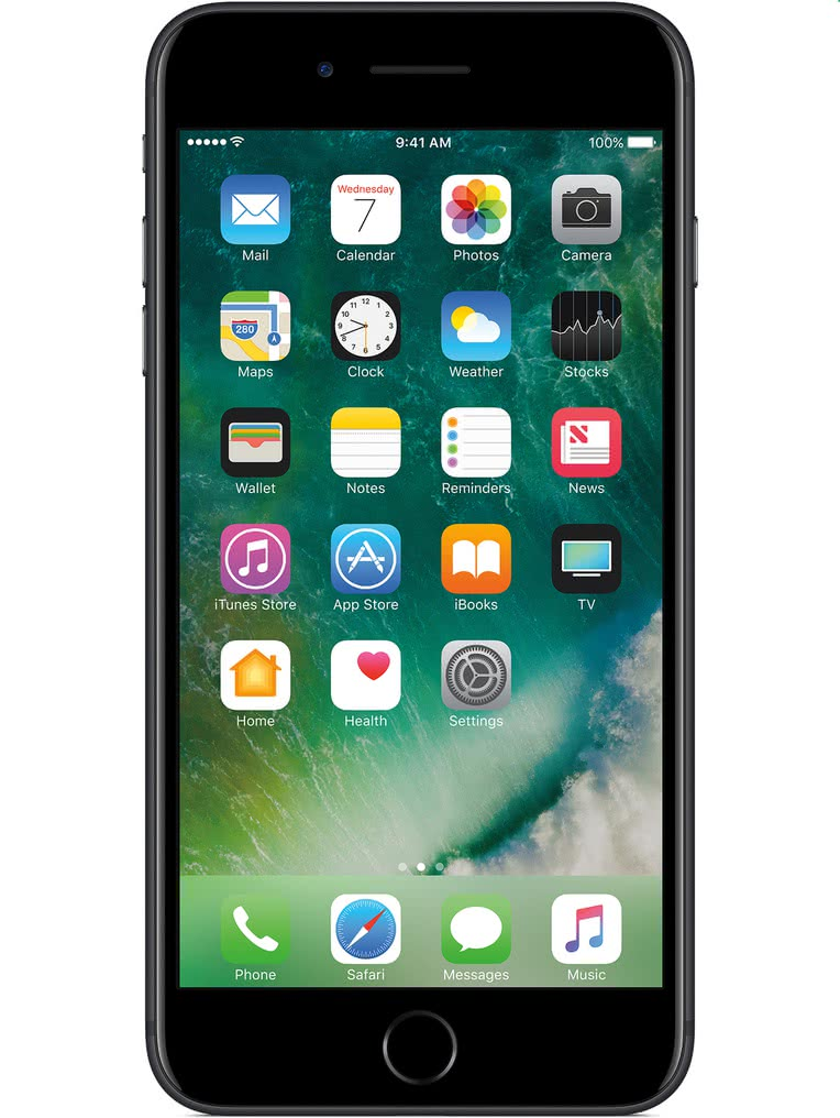 image of Apple-iPhone-7-Plus-front-Black