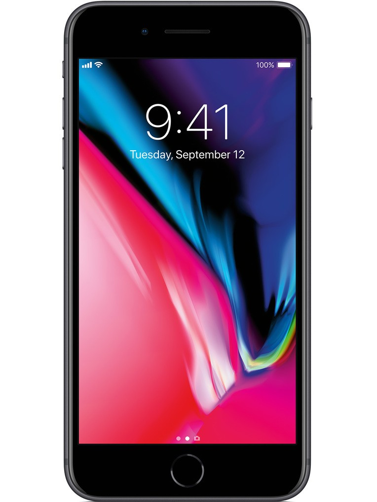 image of Apple-iPhone-8-Plus-front-Space-Gray