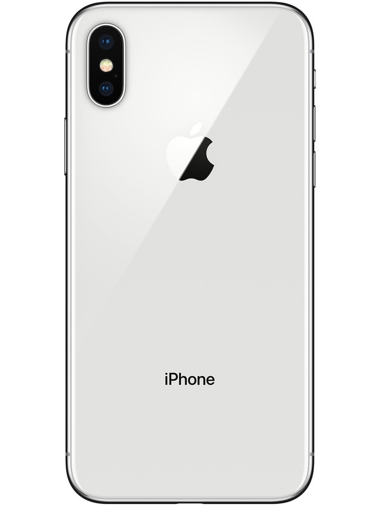 image of Apple-iPhone-X-back-Silver