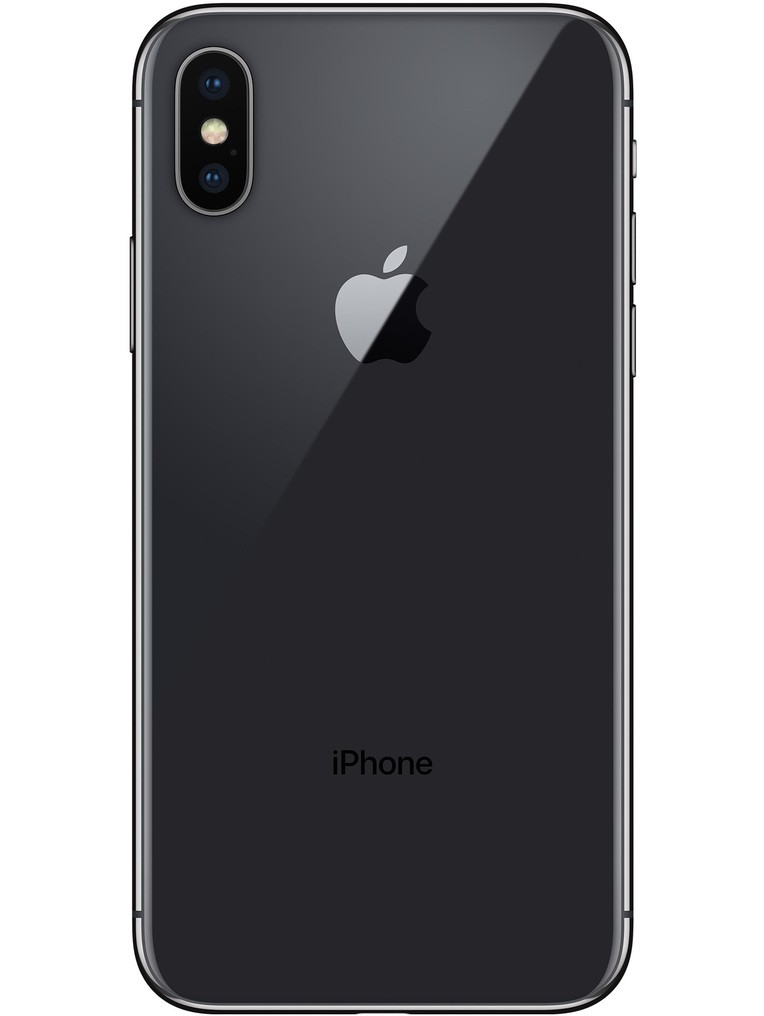 image of Apple-iPhone-X-back-Space-Gray