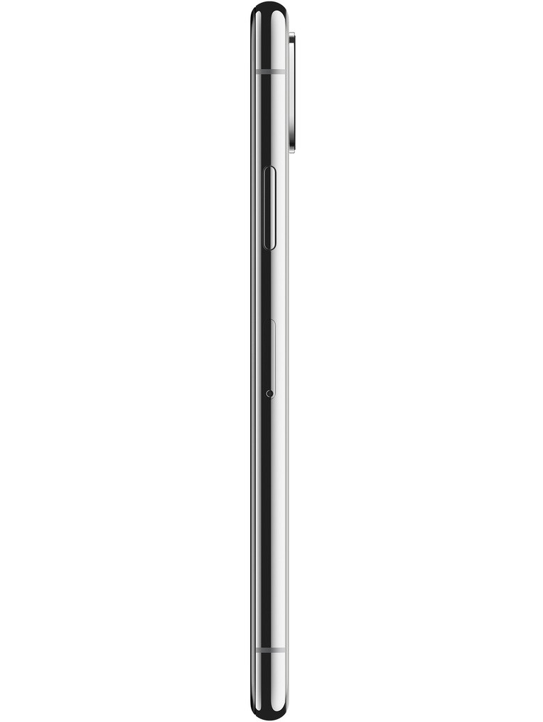 image of Apple-iPhone-X-side-Silver