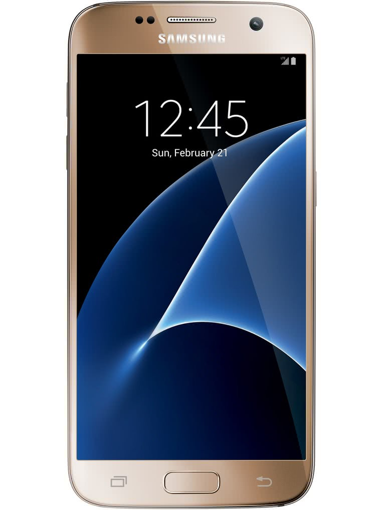 image of Samsung-Galaxy-S7-front-Gold