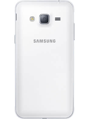 Samsung-J3-back-White