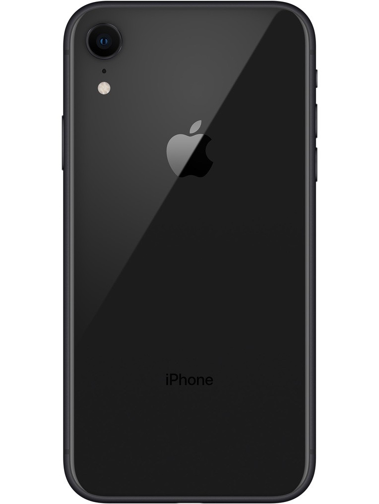 image of apple-iphone-xr-back-Black