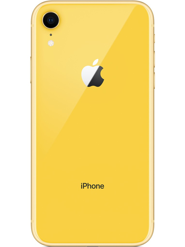image of apple-iphone-xr-back-Yellow