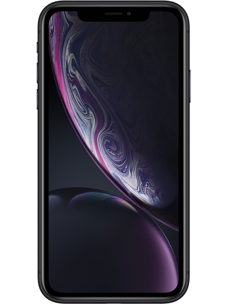 image of apple-iphone-xr-front-Black