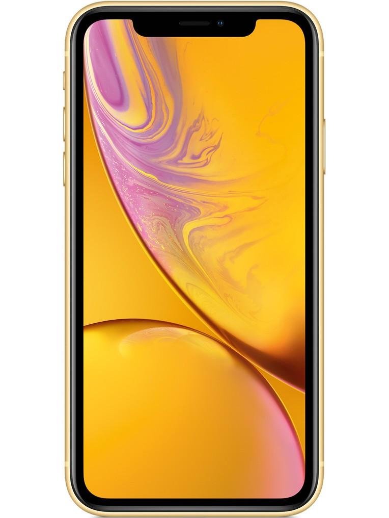 image of apple-iphone-xr-front-Yellow