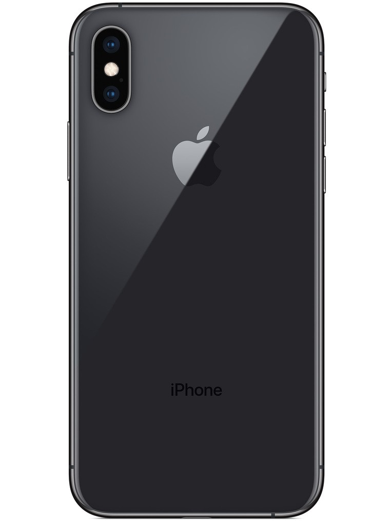 image of apple-iphone-xs-back-Space-Gray