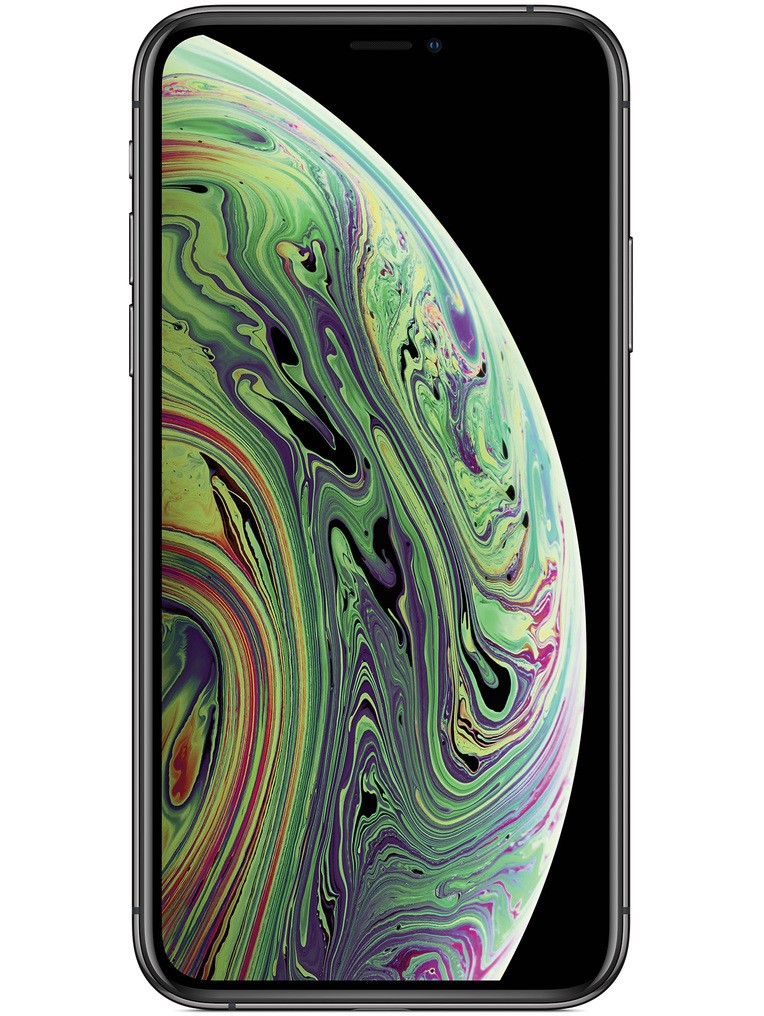 image of apple-iphone-xs-front-Space-Gray