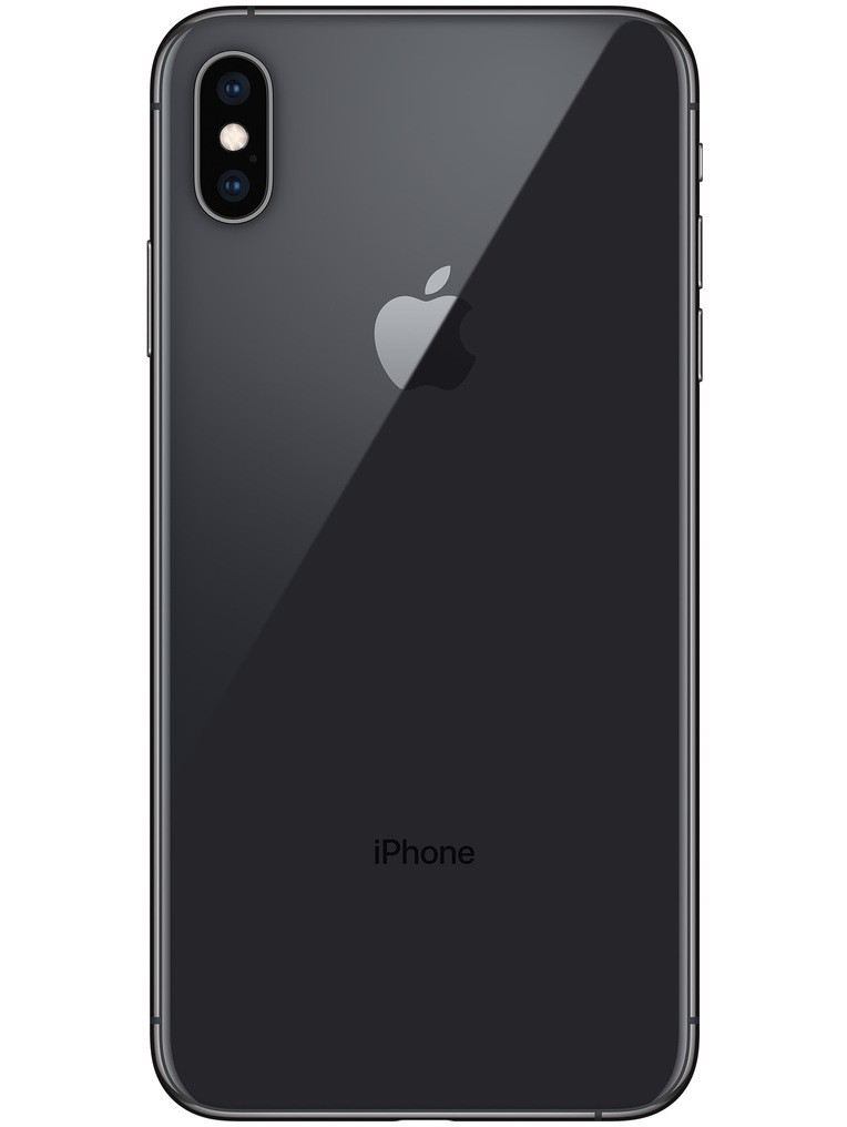 image of apple-iphone-xs-max-back-Space-Gray