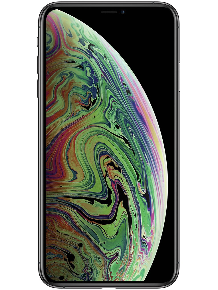 image of apple-iphone-xs-max-front-Space-Gray