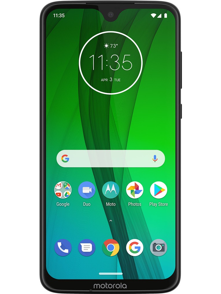 image of motorola-moto-g7-front-Ceramic-Black