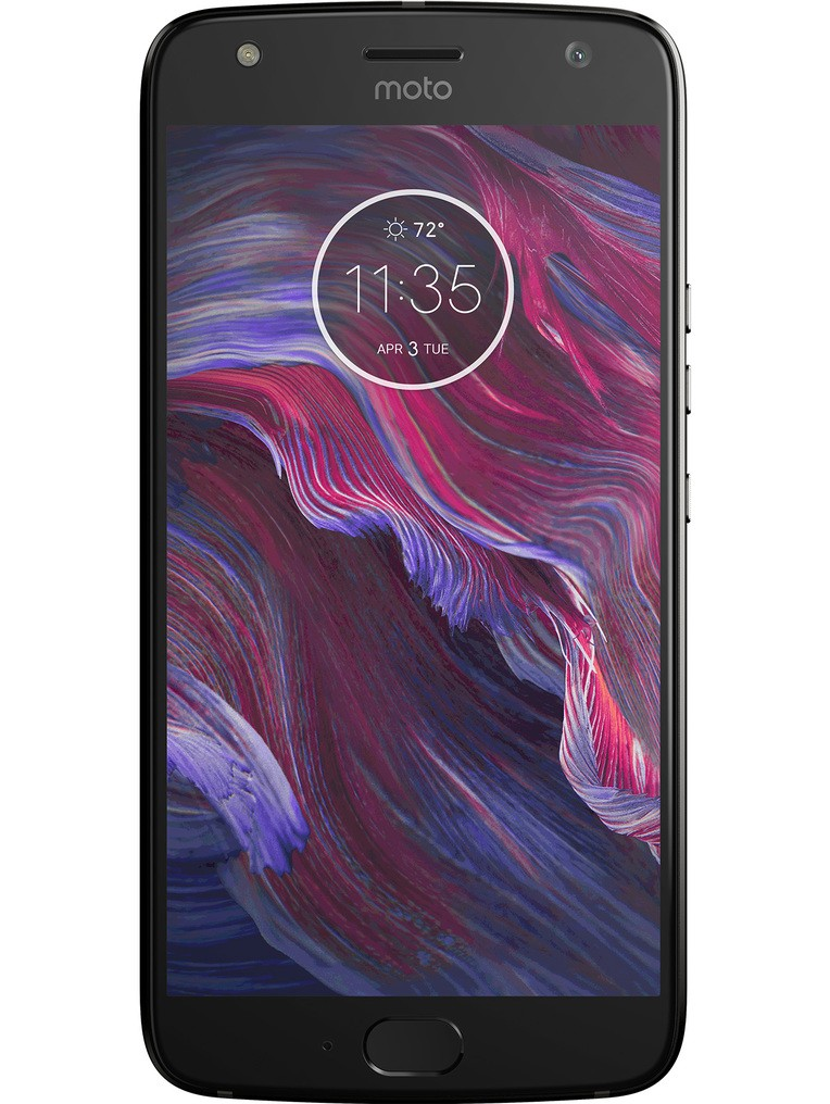 image of motorola-moto-x4-front-Super-Black