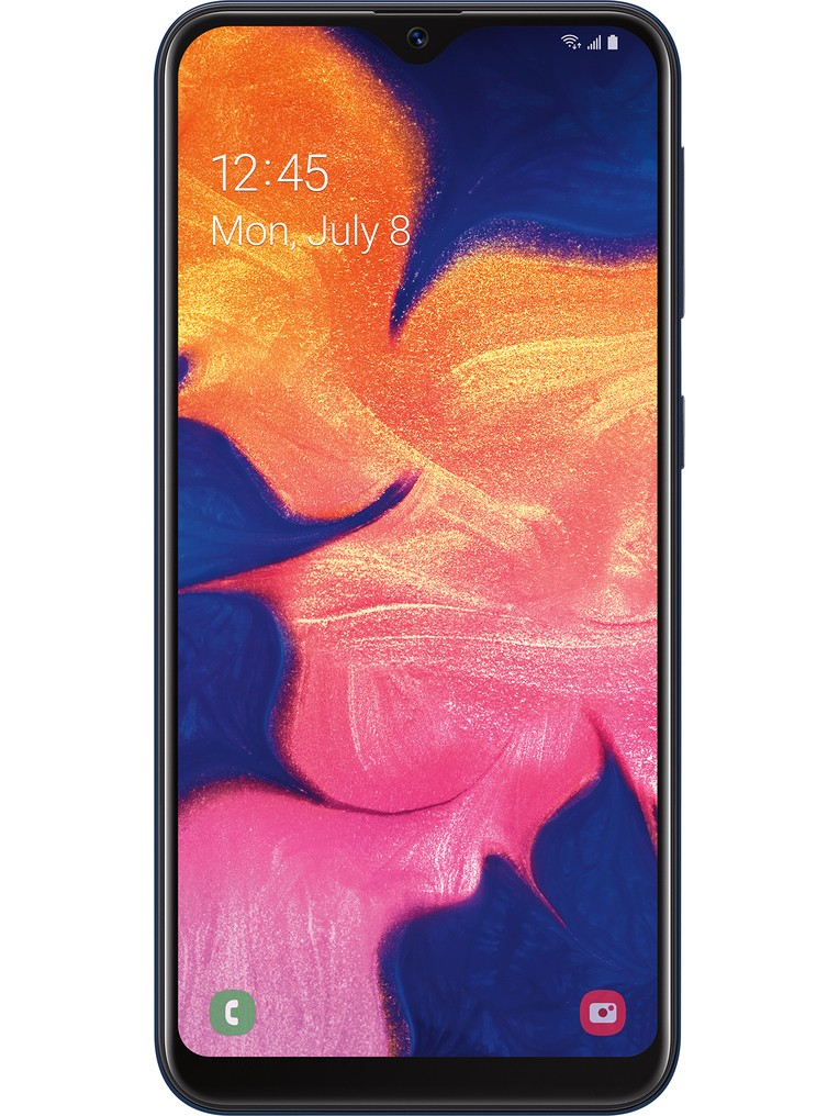image of samsung-galaxy-a10e-front-Black