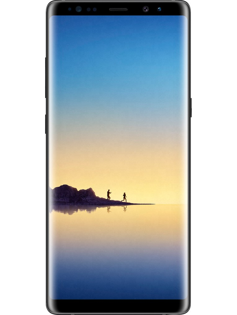 image of samsung-galaxy-note8-front-Black