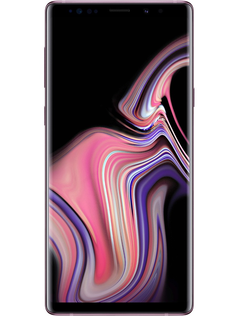 image of samsung-galaxy-note9-front-Lavender-Purple
