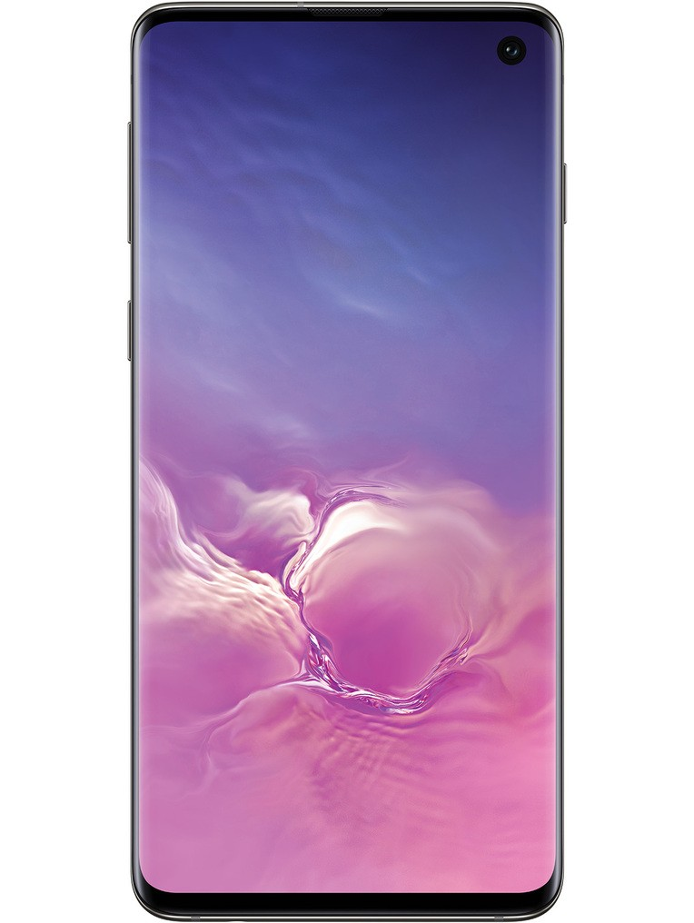 image of samsung-galaxy-s10-front-Prism-Black