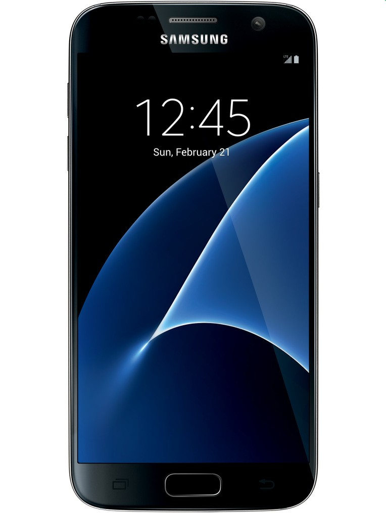 image of samsung-galaxy-s7-front-Black