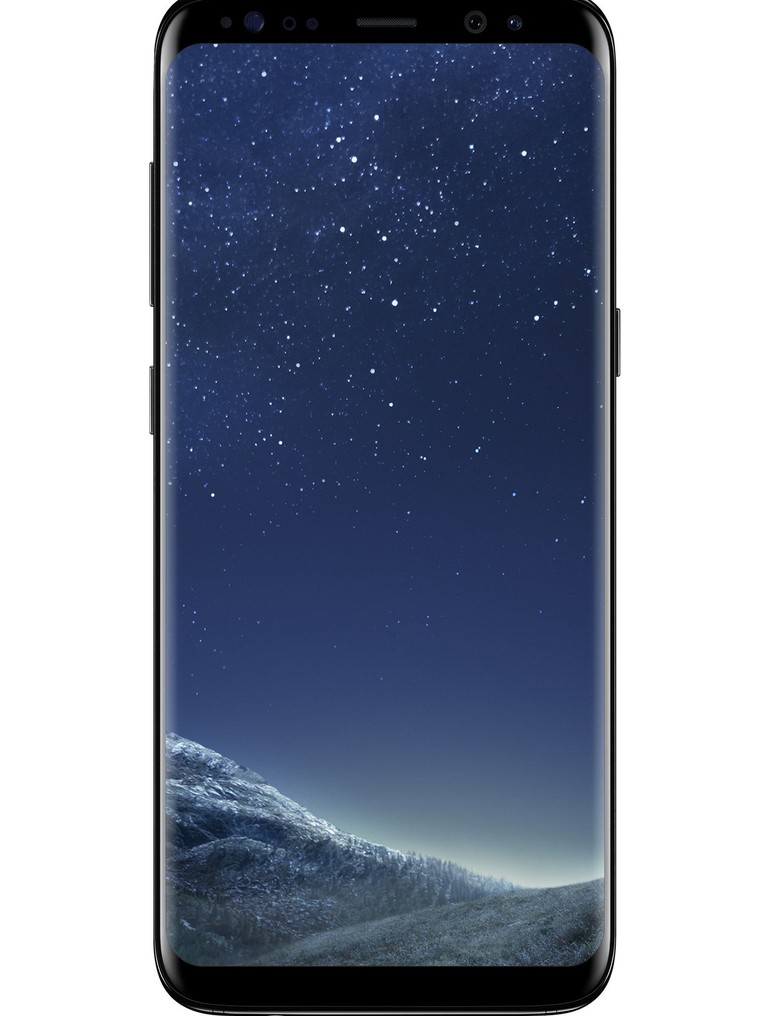 image of samsung-galaxy-s8-front-Midnight-Black
