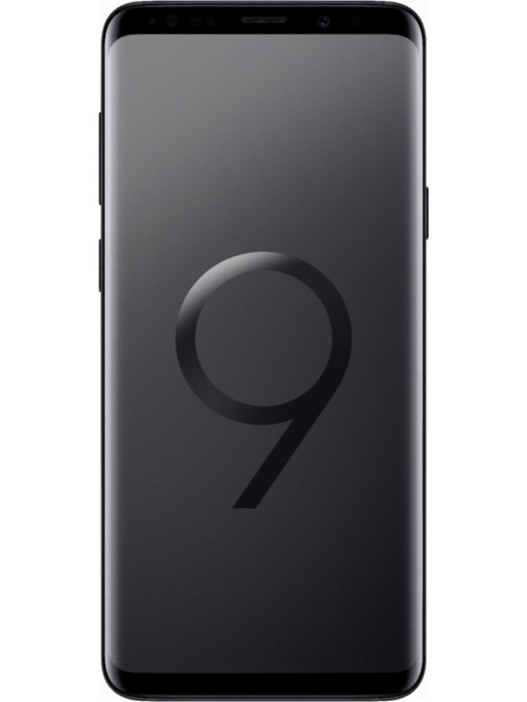 image of samsung-galaxy-s9+-front-Midnight-Black