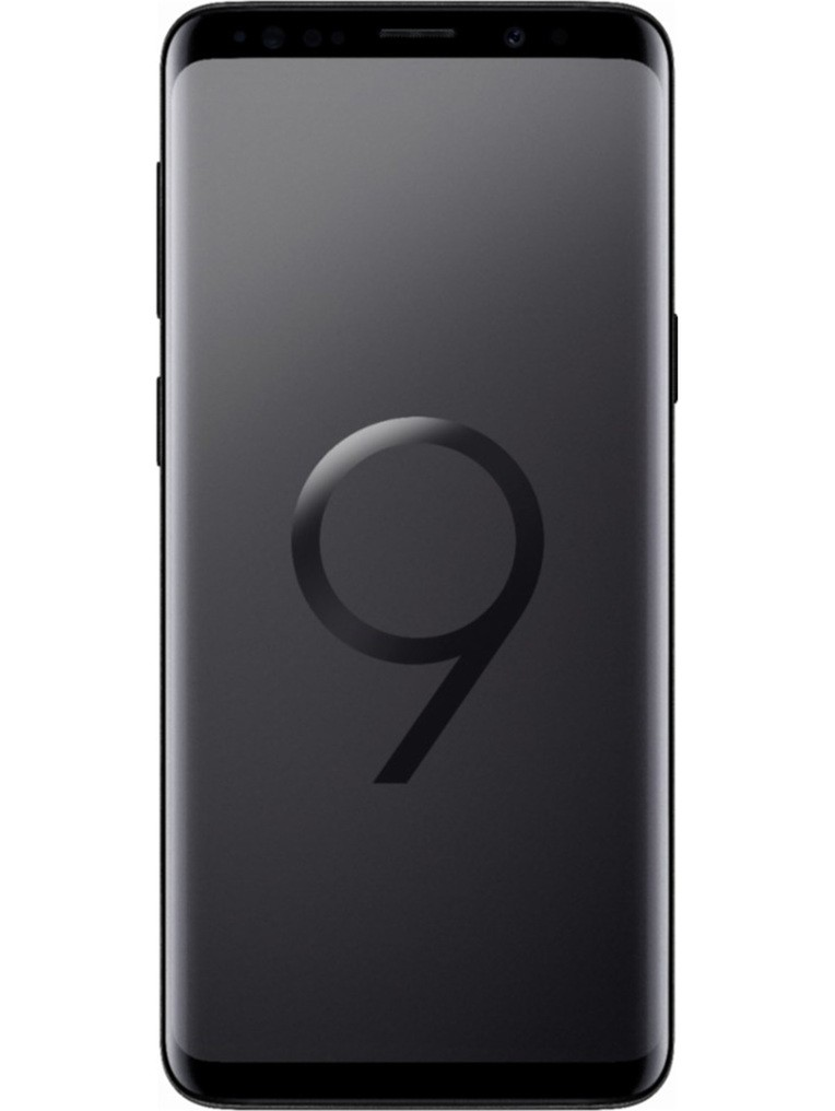 image of samsung-galaxy-s9-front-Midnight-Black