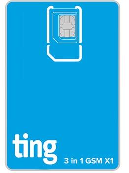 Ting GSM SIM card