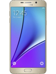 Galaxy Note 5 Gold